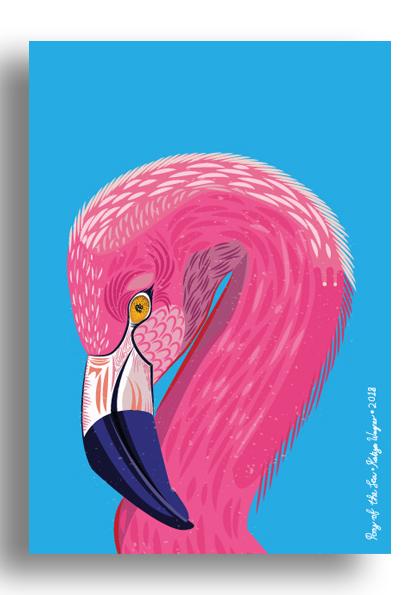 Unsung_Art_PonyoftheSea_Flamingo