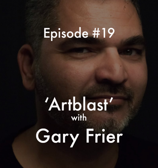 Unsung Art Podcast Gary Frier